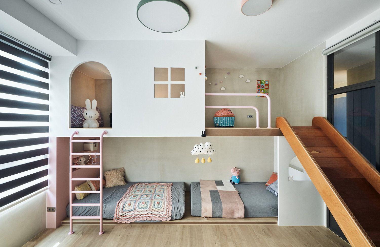 L'appartement d'un jeune couple à Taïwan par Hao Design