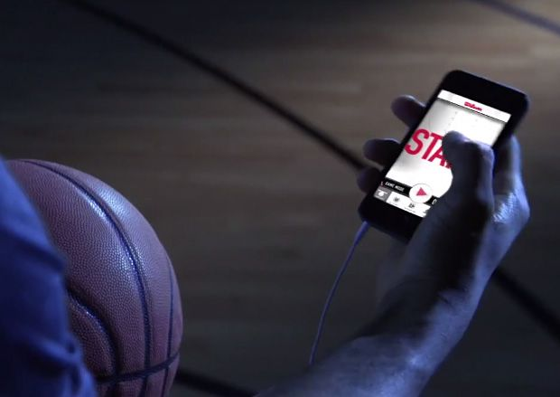 Wilson Smart Basketball Instead of simply playing