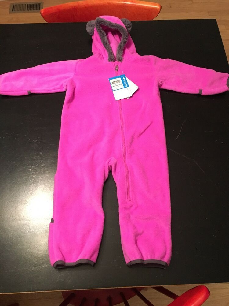 NWT Baby Girls Snow Coverall Size 24 Months