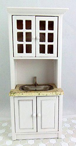 Puppen Haus Miniatur Enganliegend Küchen Möbel Weiß Holz ... Https://www