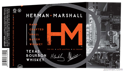 DallasHerman Marshall Texas Bourbon Whiskey Bourbon