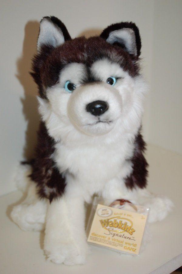 Webkinz Signature Siberian Husky New With Sealed Code Tag Nwt Soft Toy Dog Cute Stuffed Animals Webkinz