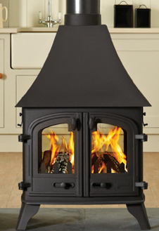 Double Sided Yeoman Wood Burning Stove Yeomanstoves Uk Co Double Sided Stove Freestanding Stove Stoves For Sale