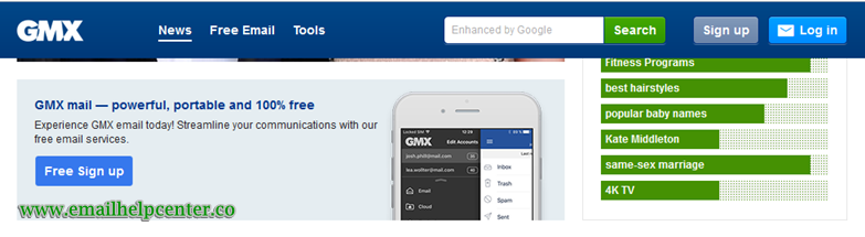 How To Login GMX Mail Account GMX Mail Sign Up www.gmx