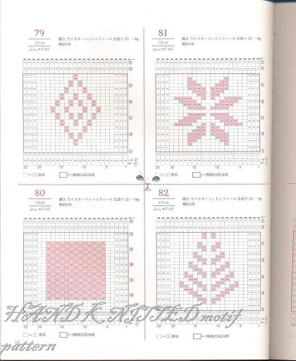 Hand Knitted Motif Pattern 3 Picasa Web Album
