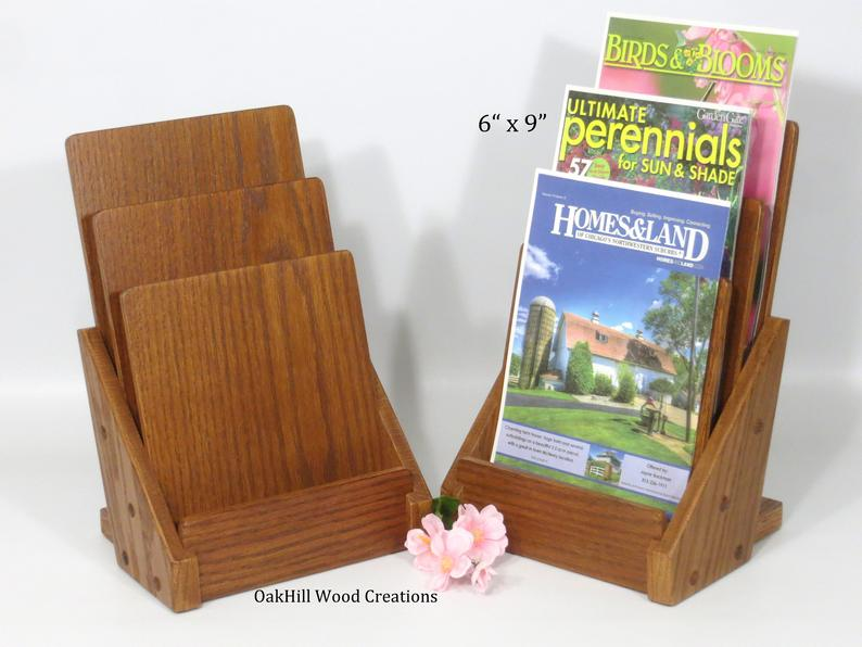 Display Stand 3 Tier 6 X 9 Brochure Holder Countertop Stand