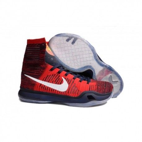 The cheap Authentic Nike Kobe 10 Elite 'American' University Red/Obsidian/Bright  Crimson Shoes factory store are awesome pair of shoes but it seems the ...