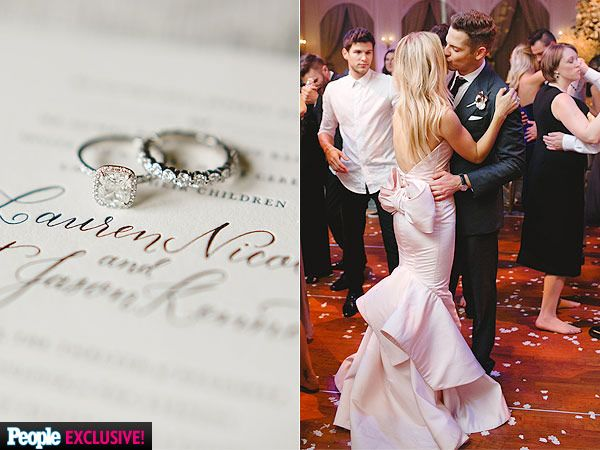 Exclusive Photos See Lauren Scruggs S Gorgeous Wedding Ring And