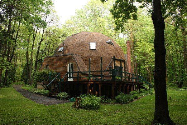 Картинки по запросу купольный дом   Domos geodesicos, Casa ...