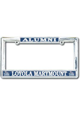 loyola marymount university alumni license plate frame
