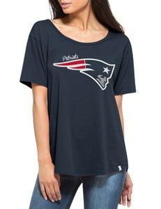 New England Patriots Boyfriend Womens Tshirt  7b8cf9998