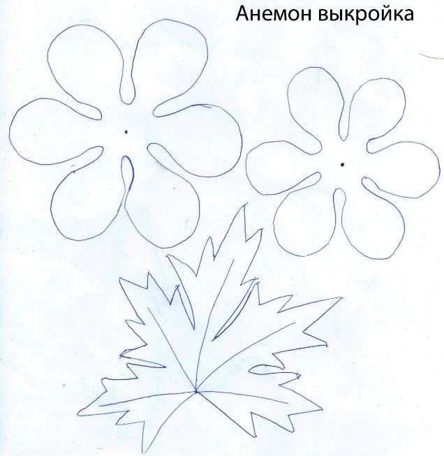Цветы из фоамирана выкройки своими руками