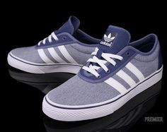 Adidas Skateboarding Adi Ease Uniform Blue White Fresh Shoes