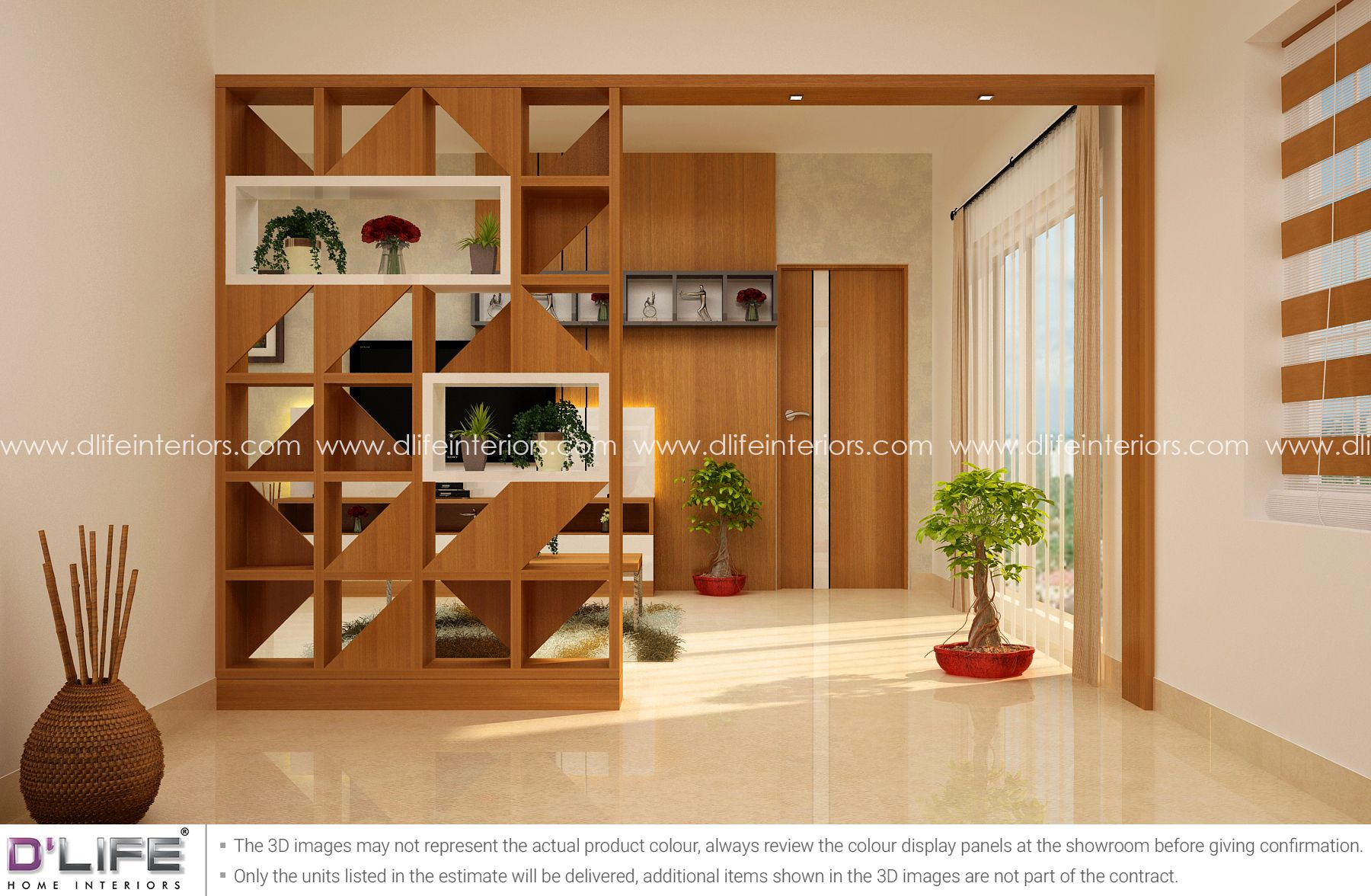 Living Dining Partition Units From Top Interior Design Company