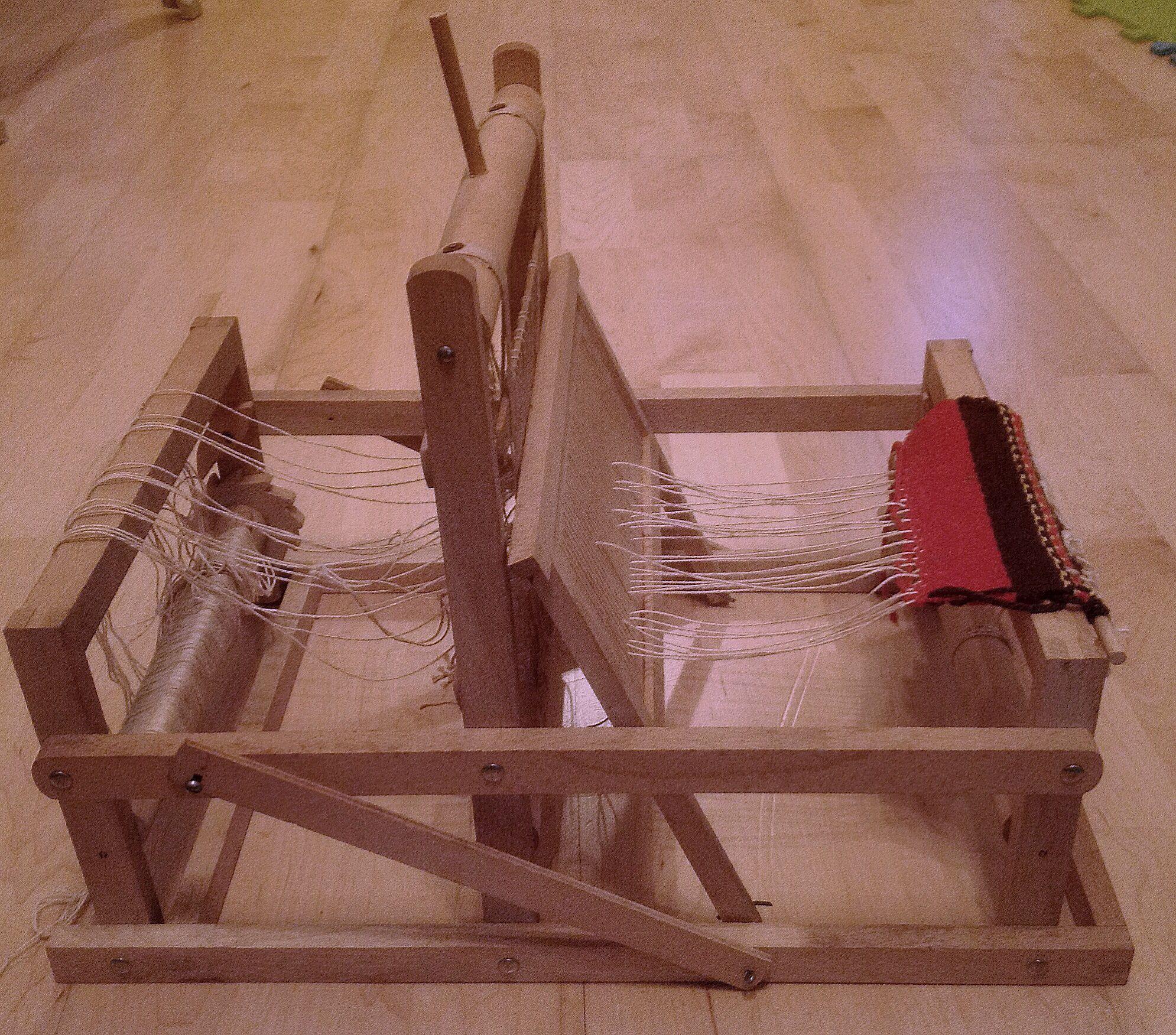 My all wooden Brio loom, no plastic parts    Weaving   Loom