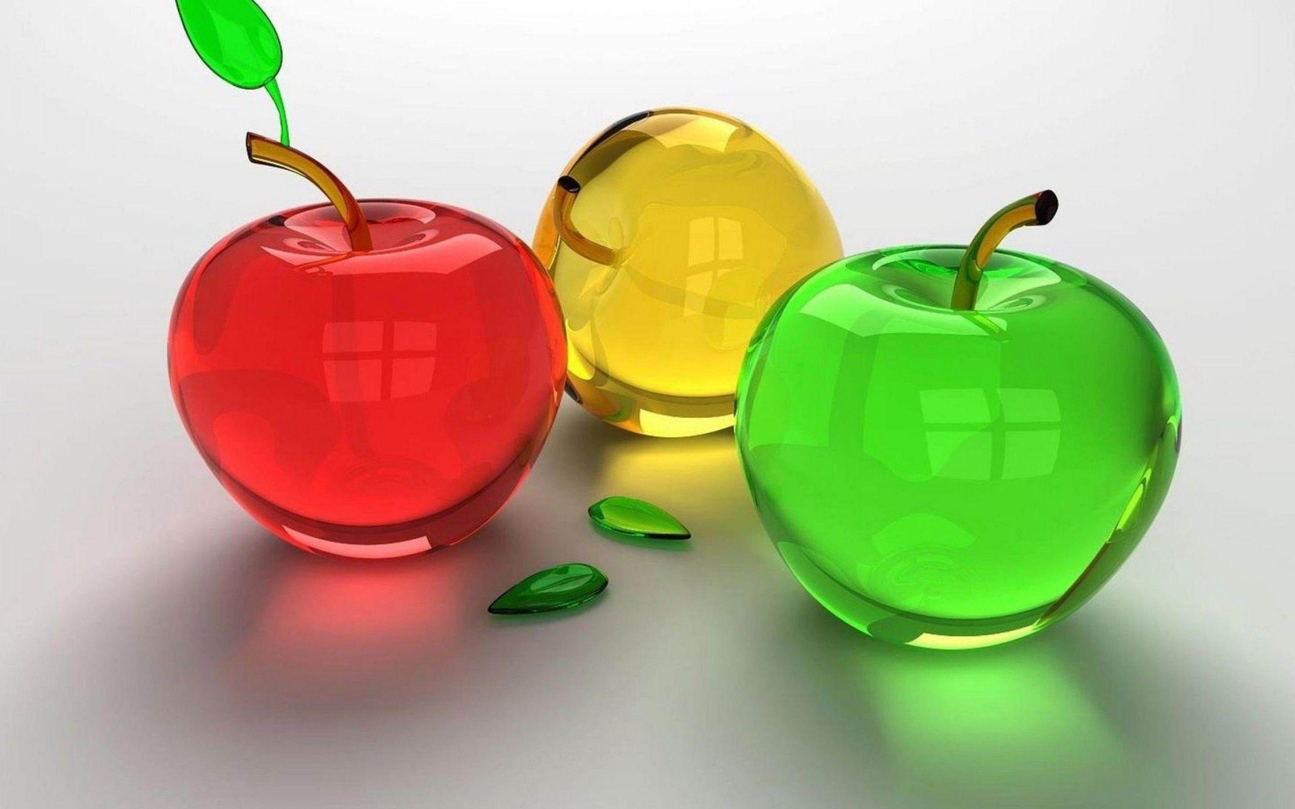 3d wallpaper apple - Buscar con Google
