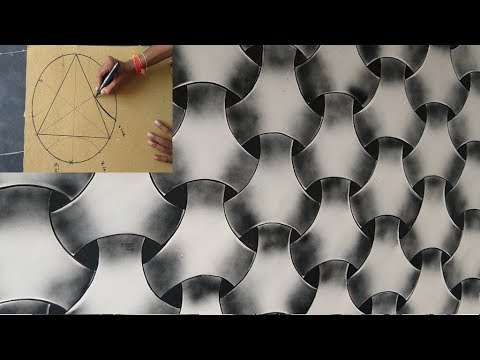 378 Wall Painting 3d Effect Design On Black Spray Youtube