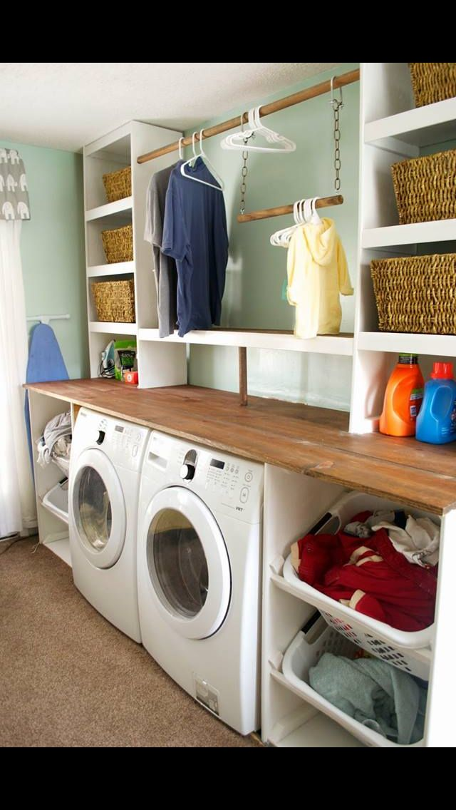 laundry room laundry room in 2019 laundry room shelves rh pinterest com