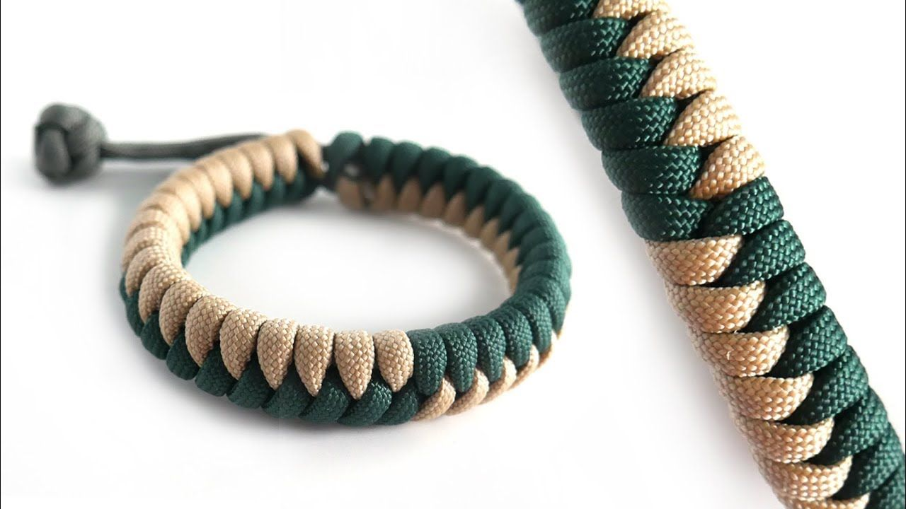 How To Make The Flip Flop Fishtail Mad Max Paracord Bracelet