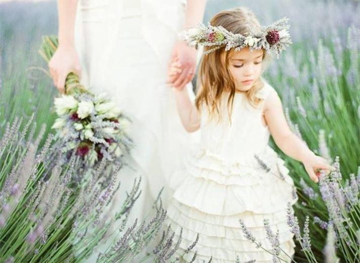 Bruiloft in Provence stijl