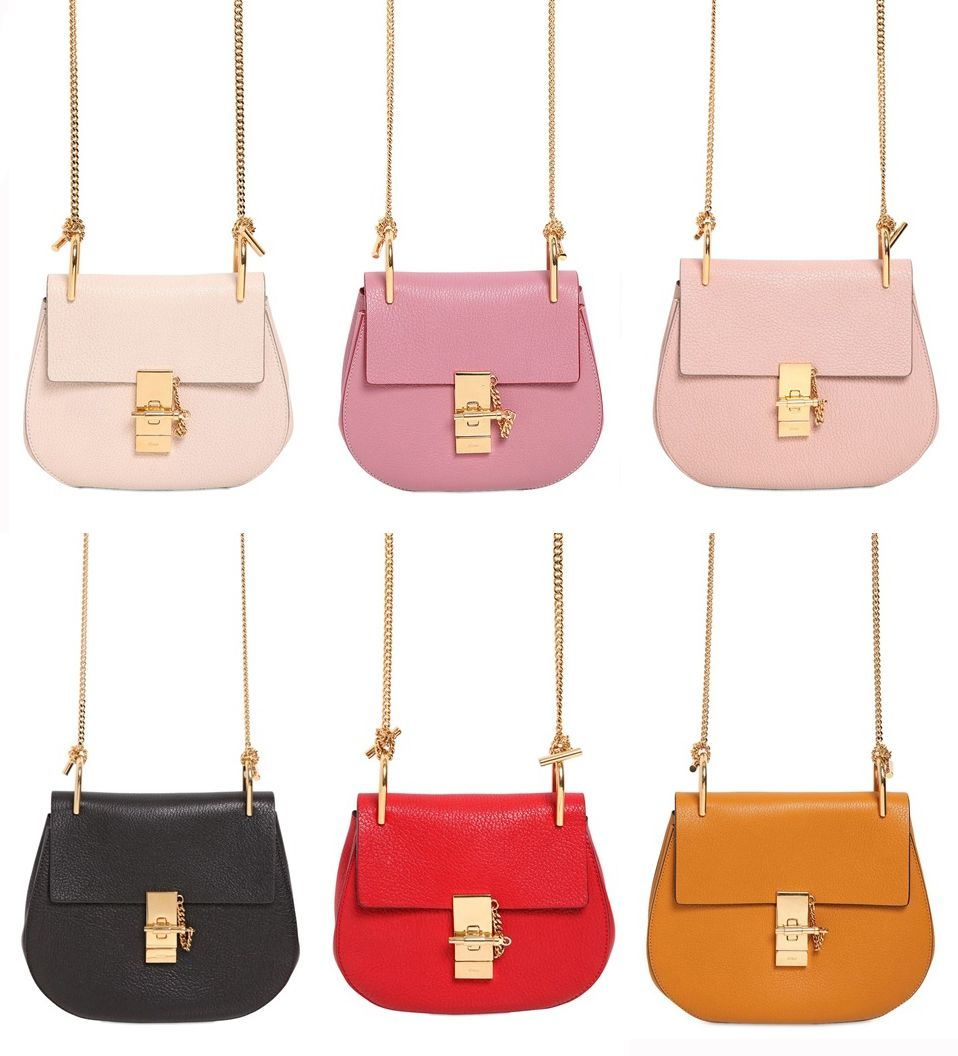 chloe drew mini vs small. shop the new spring summer 2015 chloé drew small and mini leather shoulder bag in every color before anyone else - laiamagazine chloe vs