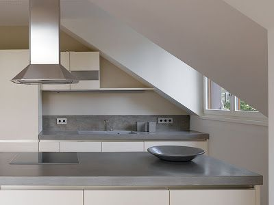 beton unique - beton cire: betonarbeitsflächen betonküche