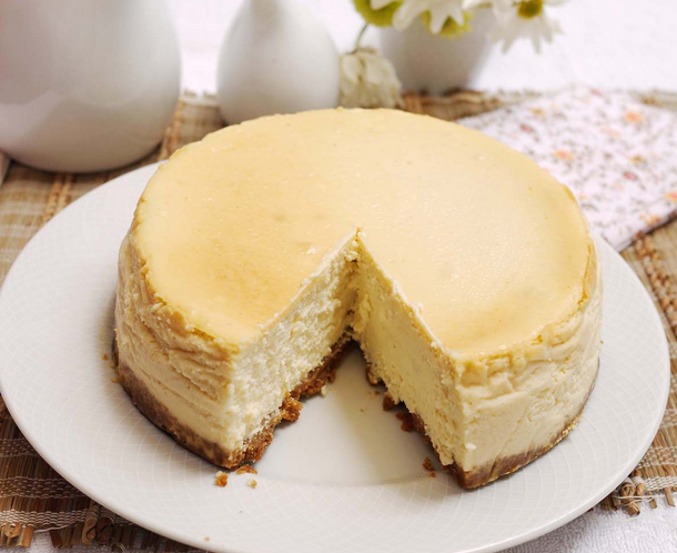 Make authentic, creamy, smooth and rich #dessert that add a taste of #NewYork. There's nothing better than a great piece of New York #cheesecake!