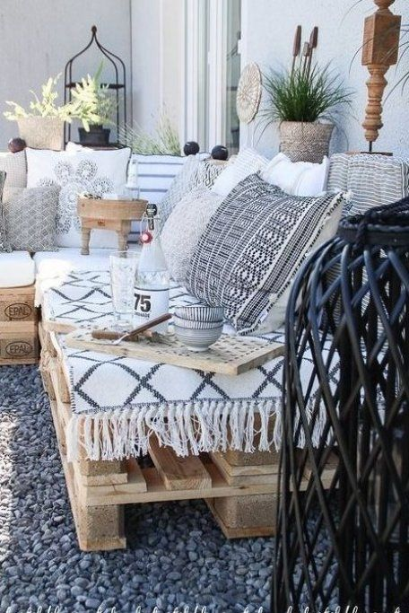 Palettenlounge Selberbauen Dekoideen F R Terrasse Und Garten Garten Gartengestaltung Gartendesign G In 2020 Pallet Lounge Living Room Decor Apartment Home Decor