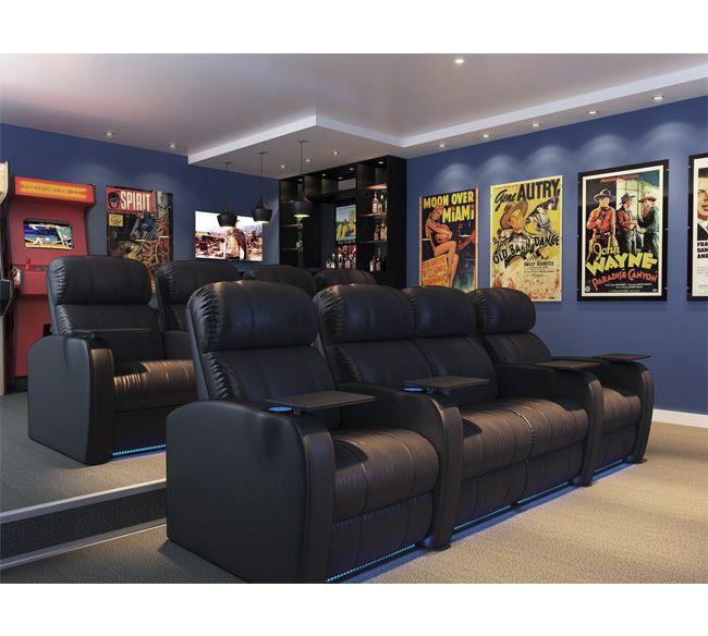 Salas De Cine En Casa: Sala De Cine En Casa, Teatro