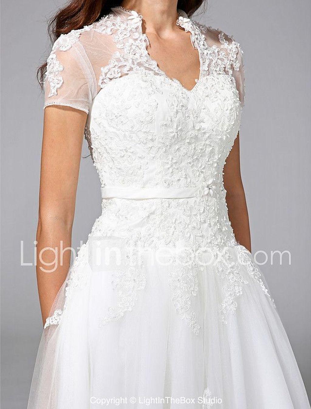 beautiful v neck tulle wedding dress ideas dress ideas