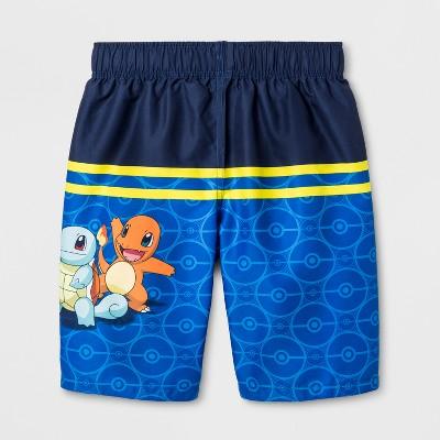 87dc749502a5f Boys' Pokemon Swim Trunks - Blue S | Products | Swim trunks, Trunks ...
