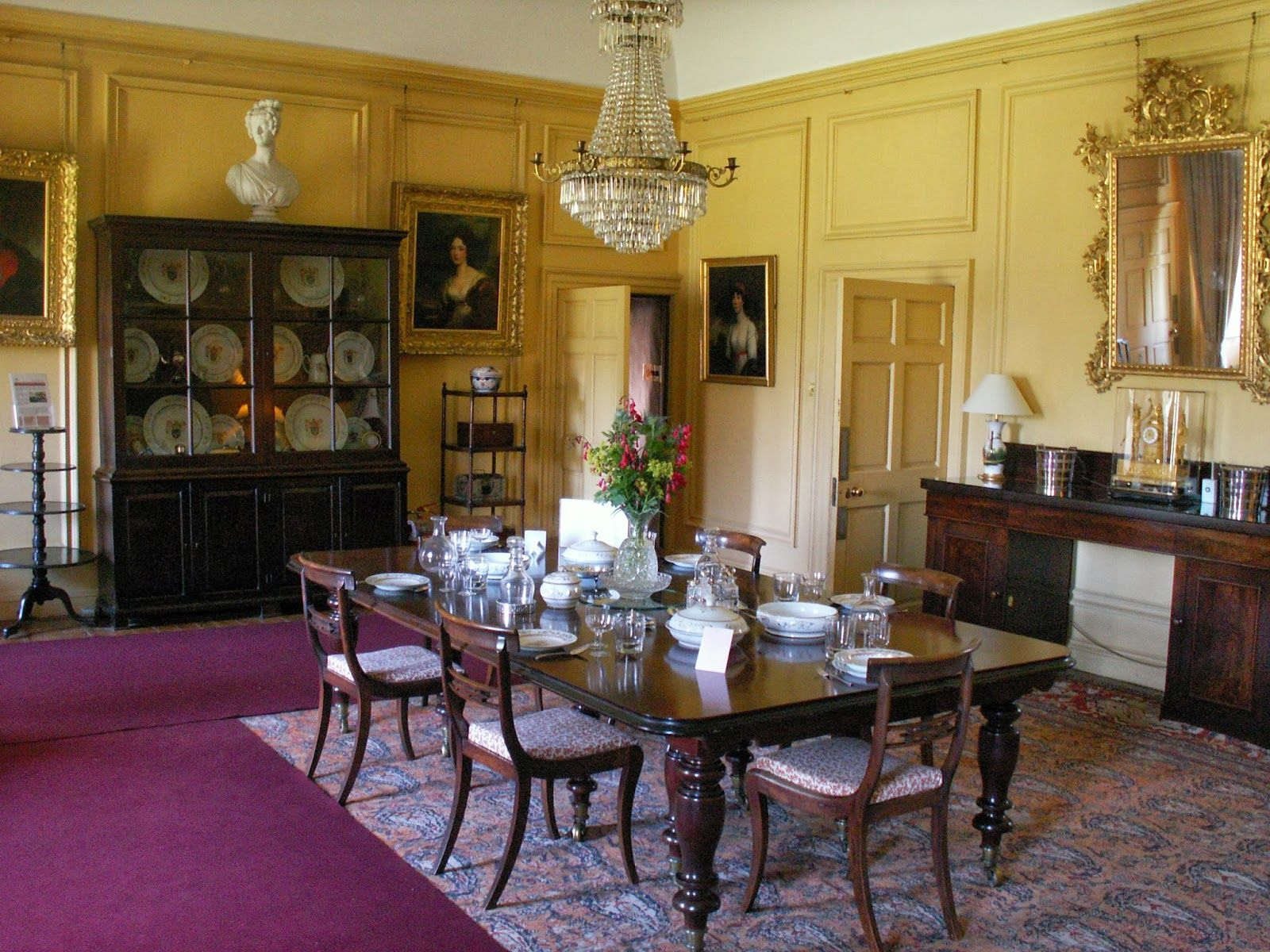 cubo et excubo: castle fraser (2) | antique interiors | pinterest