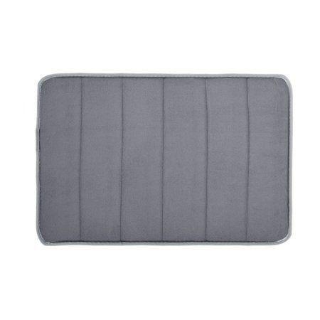 Photo of Memory Foam Bath Mat Absorbent Slip-resistant Pad Bathroom Bath Mat MatsRectangu…,  #ABSORB…