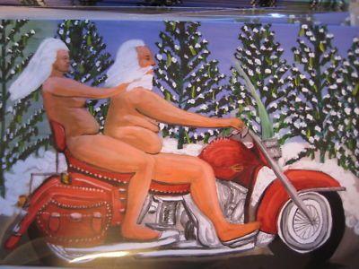 vintage christmas Naked