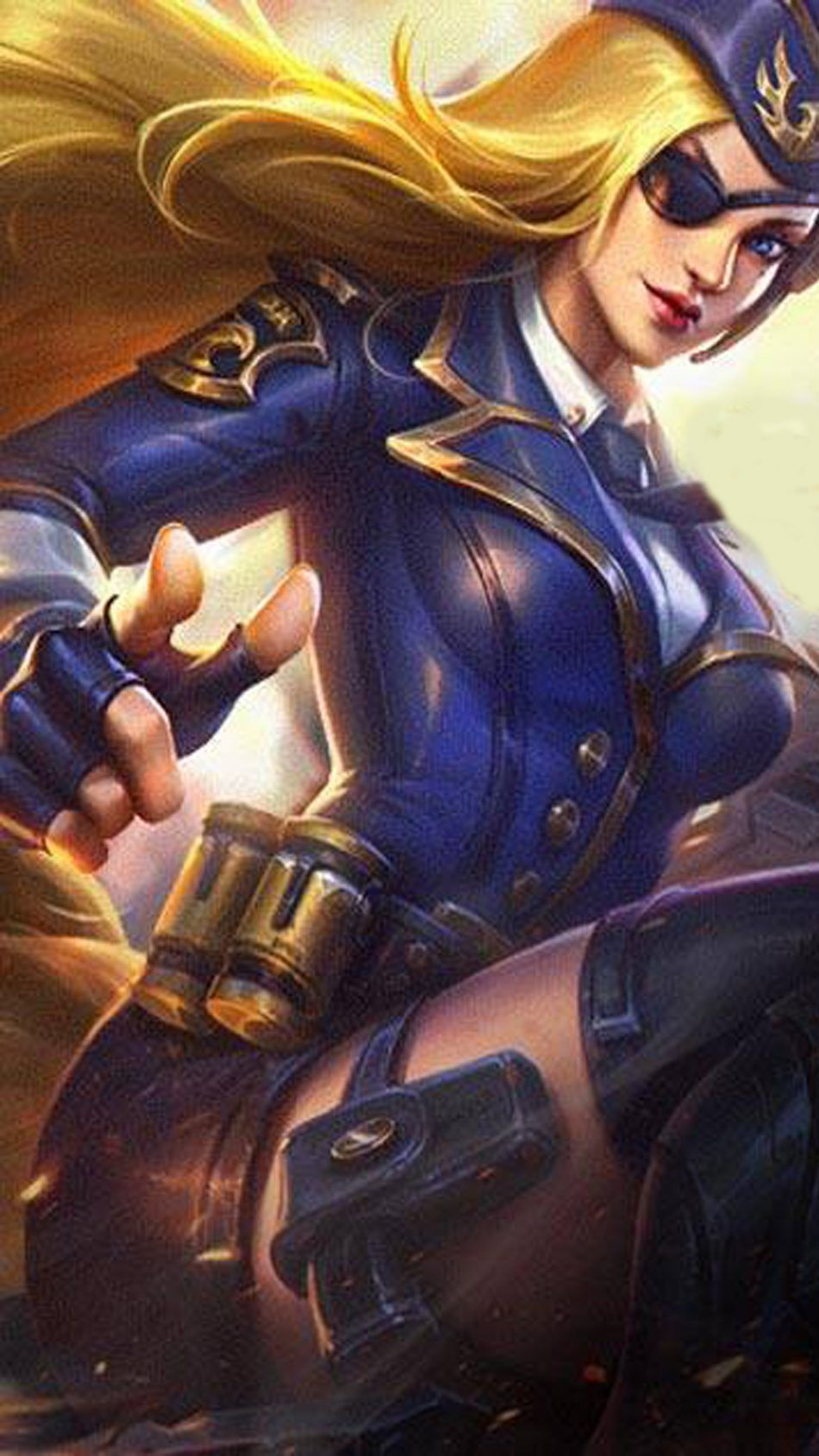 General Rosa Lesley Mobile Legends Hd Mobile Wallpaper Mobile Legend Wallpaper The Legend Of