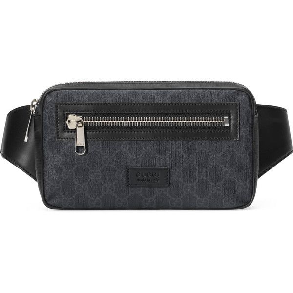 3005917df3b Gucci Soft Gg Supreme Belt Bag (872 755 LBP) ❤ liked on Polyvore featuring  bags