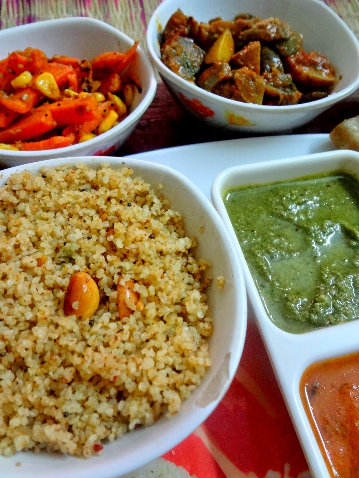 Tamrind foxtail millet thinai food pinterest millet your everyday cook forumfinder Images