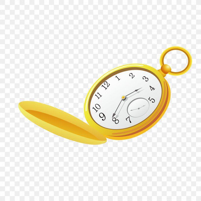 Gold Pocket Watch Cartoon Watch Cartoons Gold Pocket Watch Pocket Watch