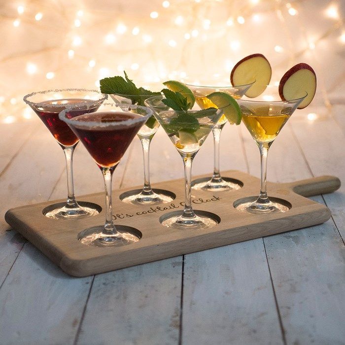 Personalised LSA Cocktail Glasses U0026 Paddle Board | GettingPersonal.co.uk