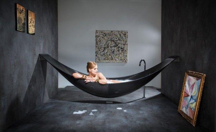 Amaca vasca: realizzata in fibra di carbonio possibile anche nei