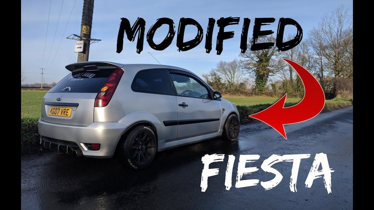 Ford Fiesta Mk6 Mods Modified 1 6 Ford Fiesta Modified Ford
