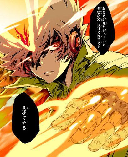 Operation X X Burner Tsuna Reborn Katekyo Hitman