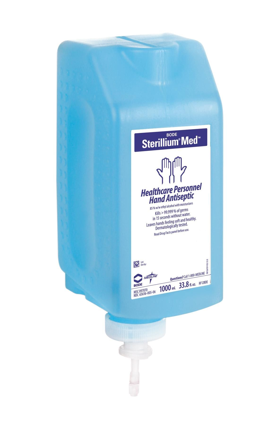 Sterillium Med Liquid Hand Sanitizer Medline Industries Inc