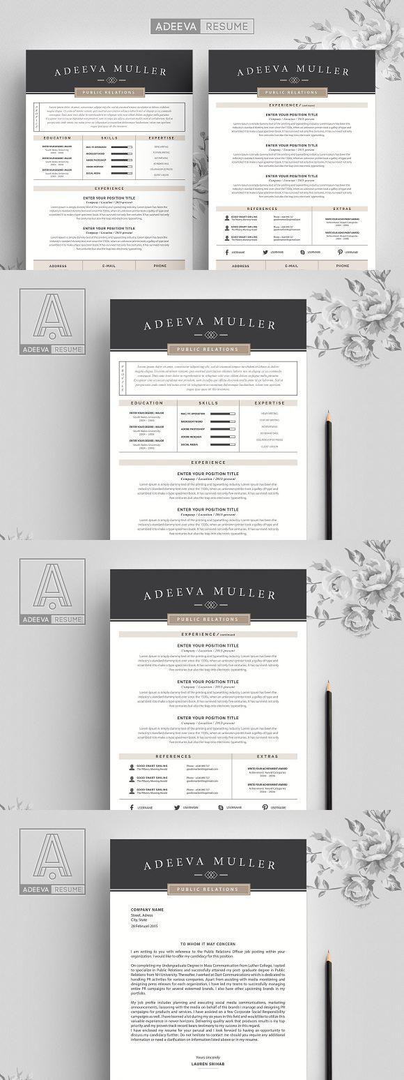 Modern Resume Template Lila Modern resume template