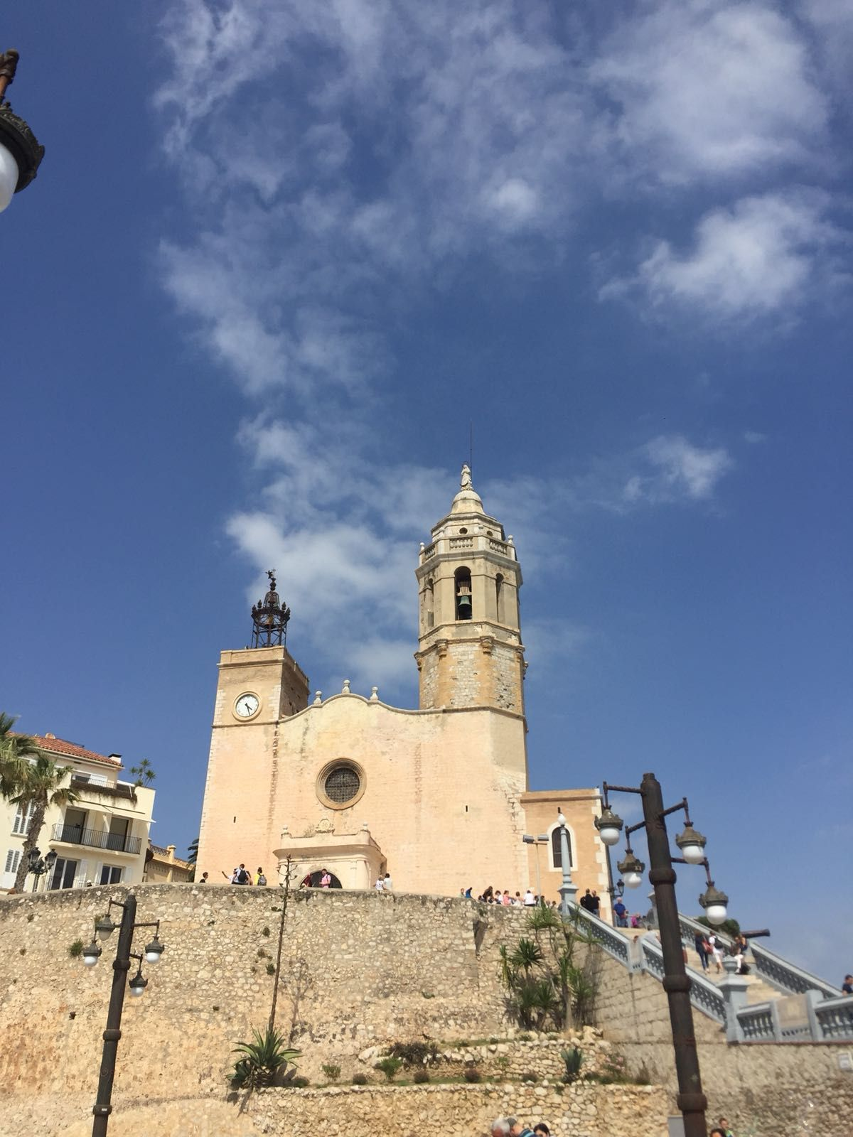 #Sitges is a coastal town in Spain's Catalonia region ...