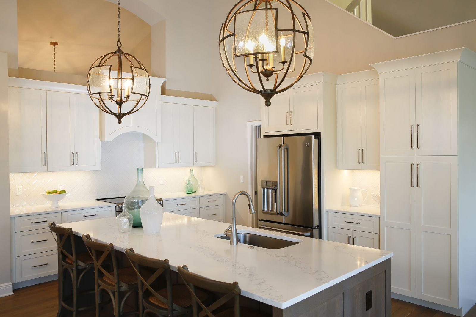 White kitchen by stonebreaker builders u remodelers naples fl