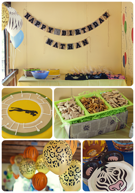 My Wrinkle In Time Wild Kratts Birthday Party Dont Forget About Those Animal Paper Plates At Walmart
