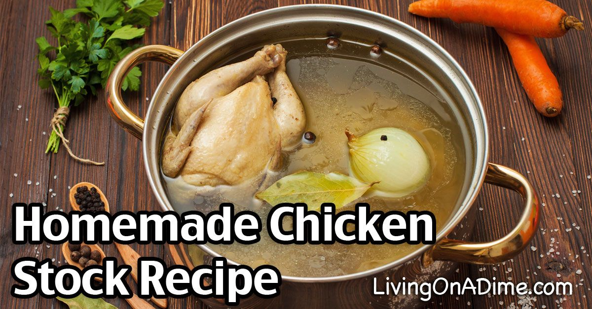 Try this easy homemade chicken stock recipe, which makes a great base for soups and other dishes. Here is a step by step process to make chicken stock.