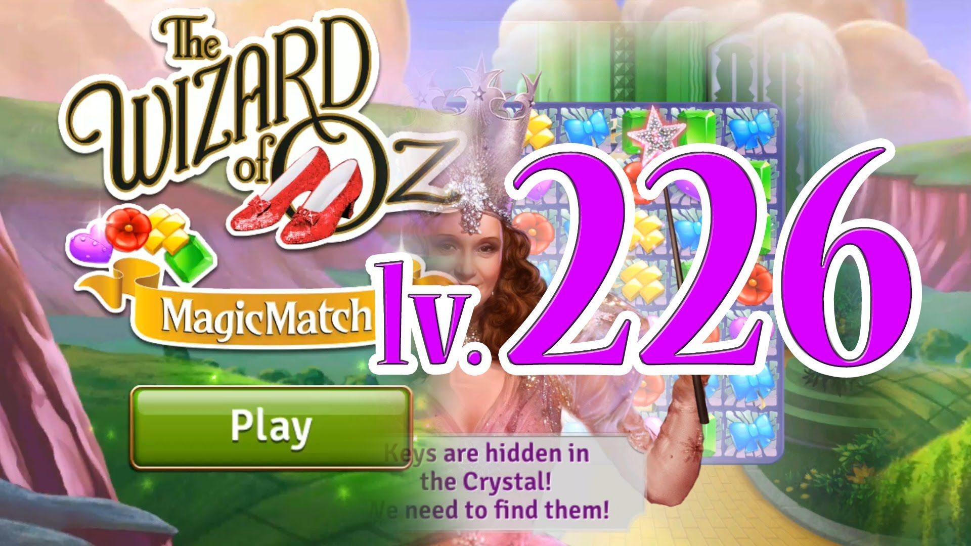 Wizard of Oz: Magic Match - Level 226 (1080/60fps)