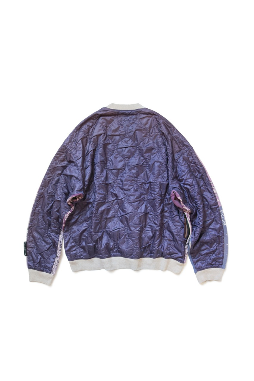 Kapital Releases Half Quilted Bandana Sweaters In Five Bold Colorways Sweatshirts Sweaters Printed Sweater [ 1280 x 853 Pixel ]